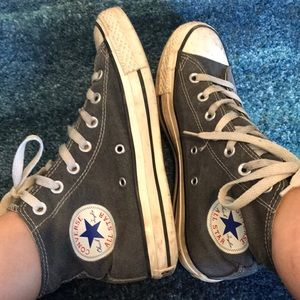 Converse All Stars grey size 5 men
